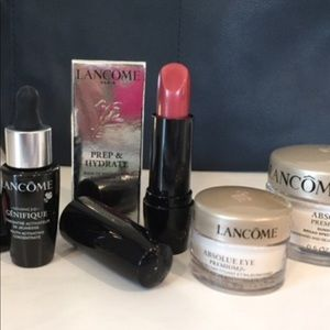 Lancome Travel bag and items